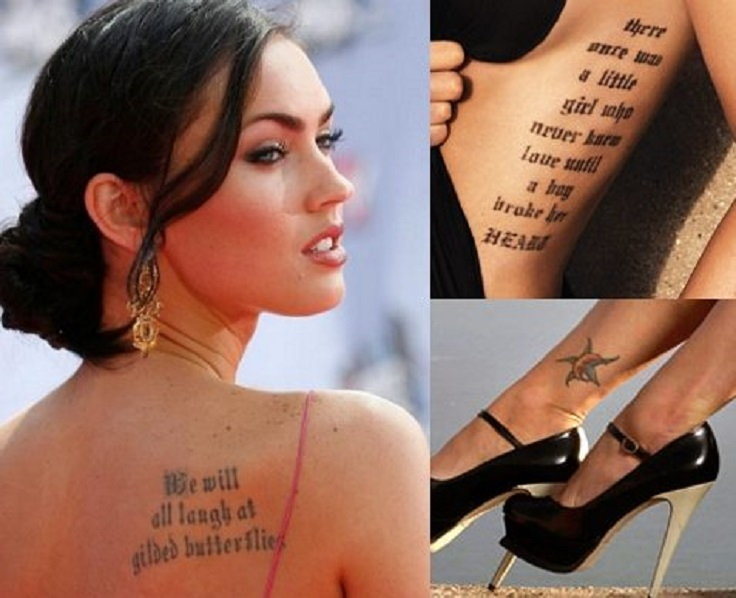 Top 10 Female Celebrity Tattoos Top Inspired Ideas And Designs
