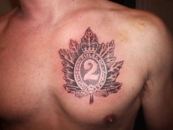 Canadian Tattoos Ideas And Designs