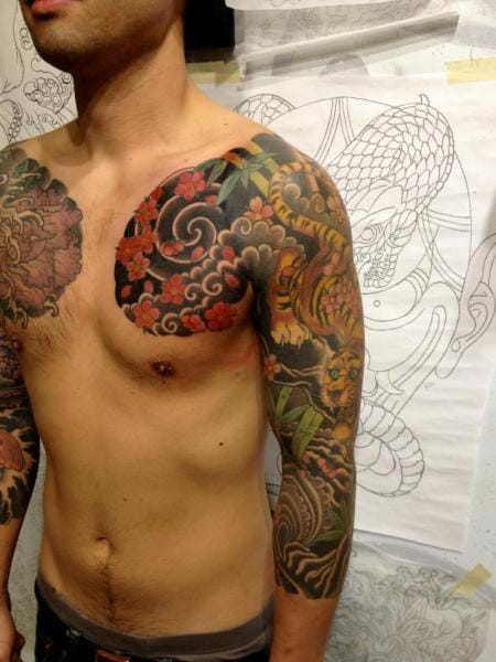 22 Amazing Bold Japanese Sleeves Tattoodo Ideas And Designs