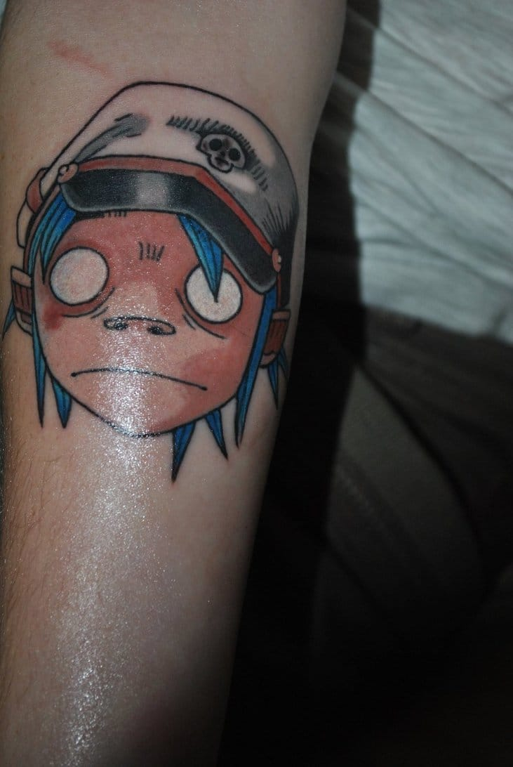 15 Gorillaz Tattoos That Will Give You The Feel Good Inc Ideas And Designs