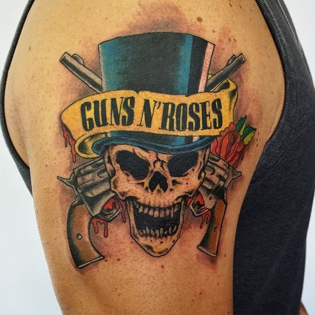 10 Guns N Roses Tattoos For All Hard Rock Enthusiasts Ideas And Designs