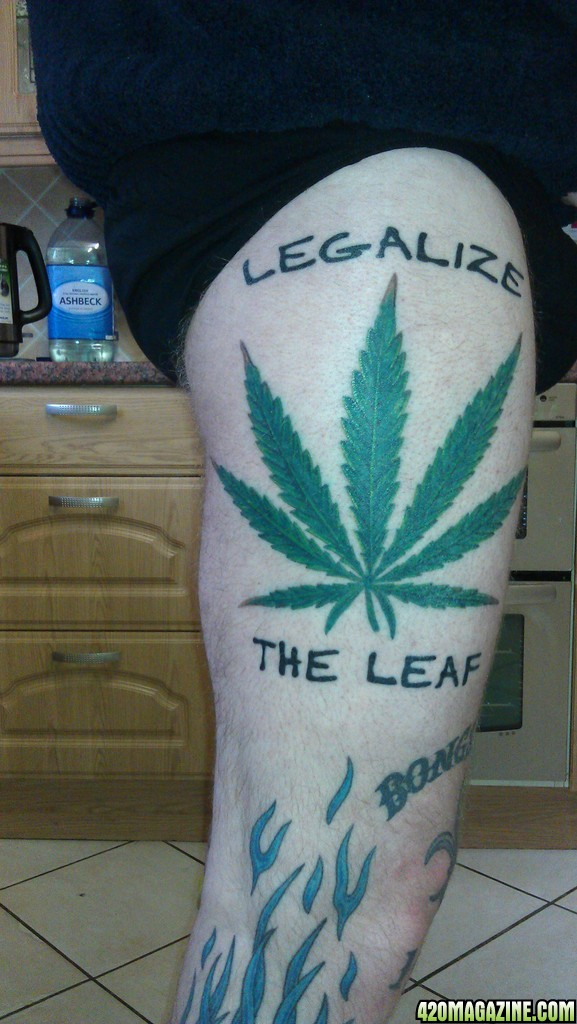 My Leaf Tattoo 420 Magazine Photo Gallery Ideas And Designs