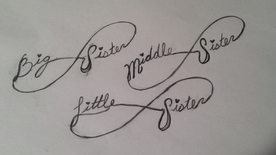 2 Sister Tattoo Designs Ideas And Designs