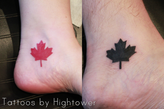 6 Maple Leaf Tattoo Designs And Ideas Ideas And Designs