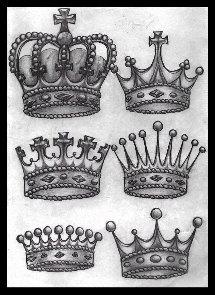 13 Nice Crown Tattoo Design Ideas For Girls Ideas And Designs