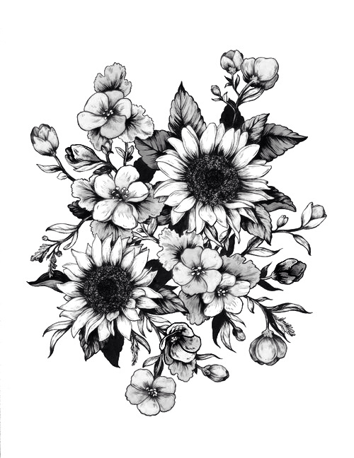 35 Flower Tattoo Design Samples And Ideas Ideas And Designs