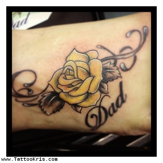 5 Yellow Rose Tattoos On Forearm Ideas And Designs