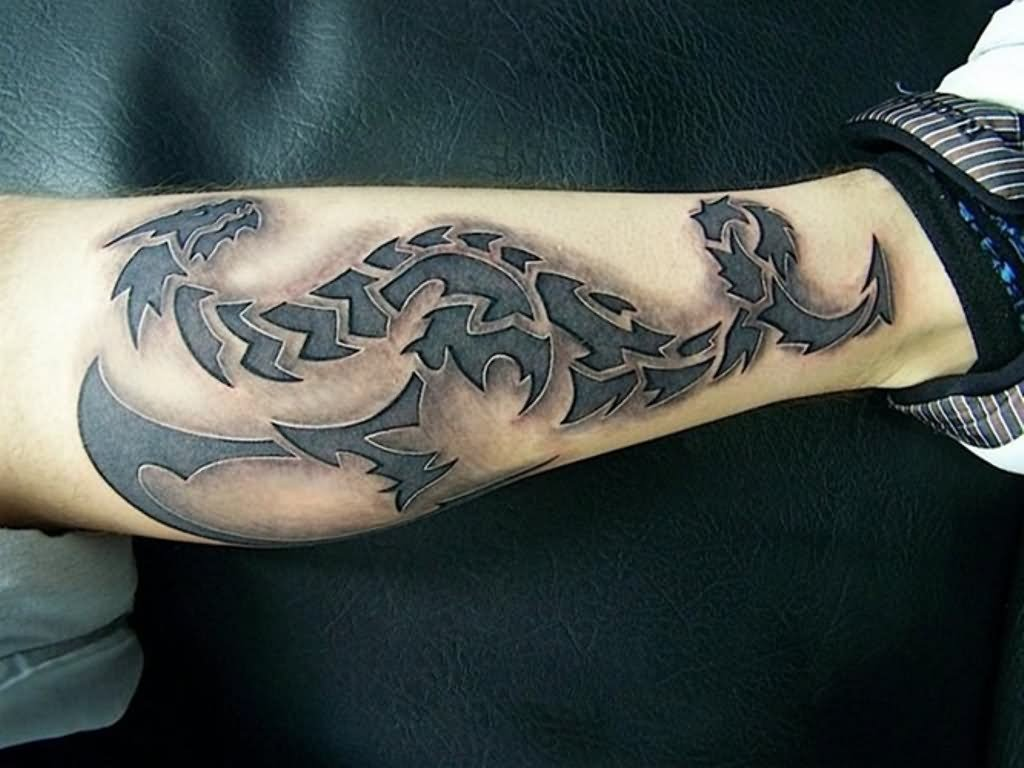 25 Incredible 3D Dragon Tattoos Ideas And Designs