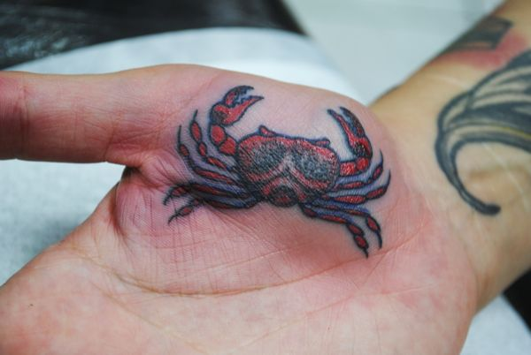 35 Nice Cancer Crab Tattoos Ideas And Designs