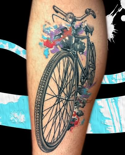 101 Wonderful Bike Tattoos Ideas And Designs