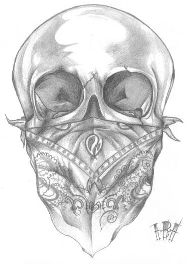36 Latest Gangster Skull Tattoos Ideas And Designs