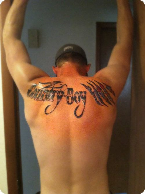 10 Country Tattoos On Upper Back Ideas And Designs