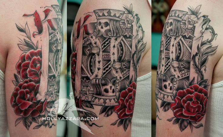 27 King Card Tattoos Ideas And Designs