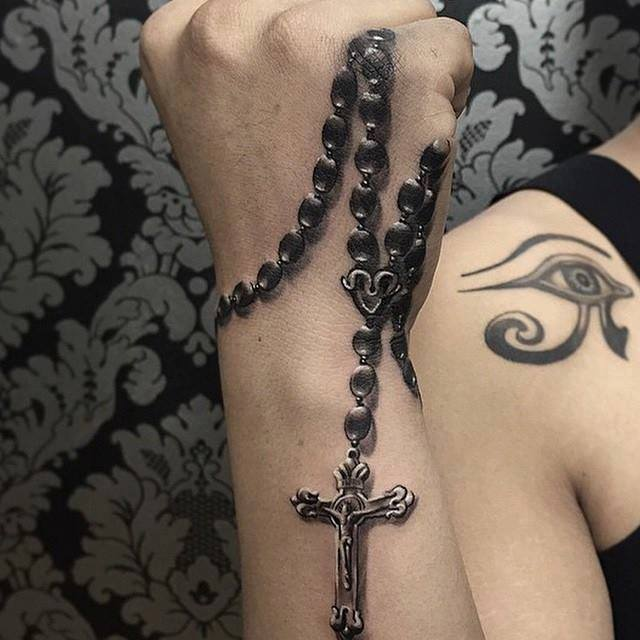 4 Cool Rosary Tattoo Designs Ideas And Designs