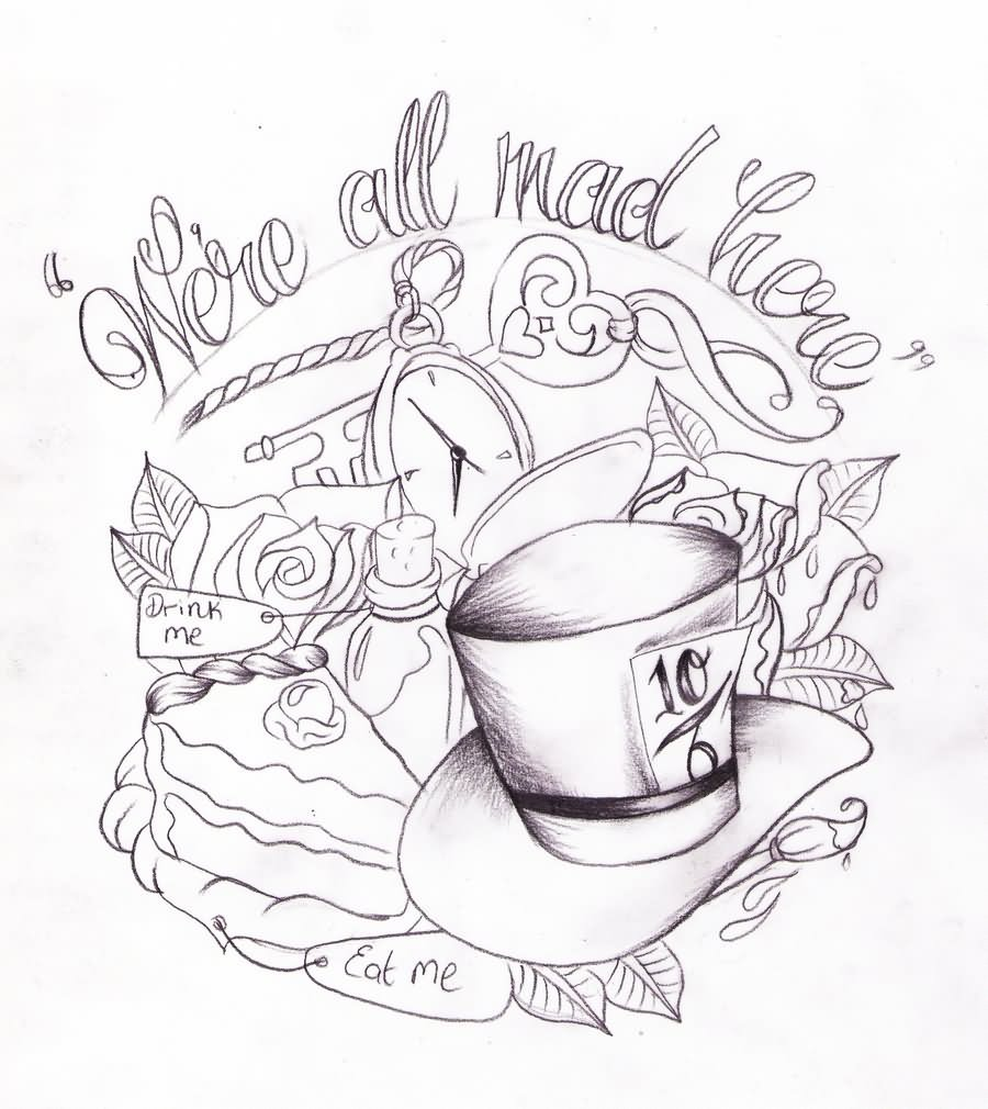 17 Alice In Wonderland Teacup Tattoos Ideas And Designs