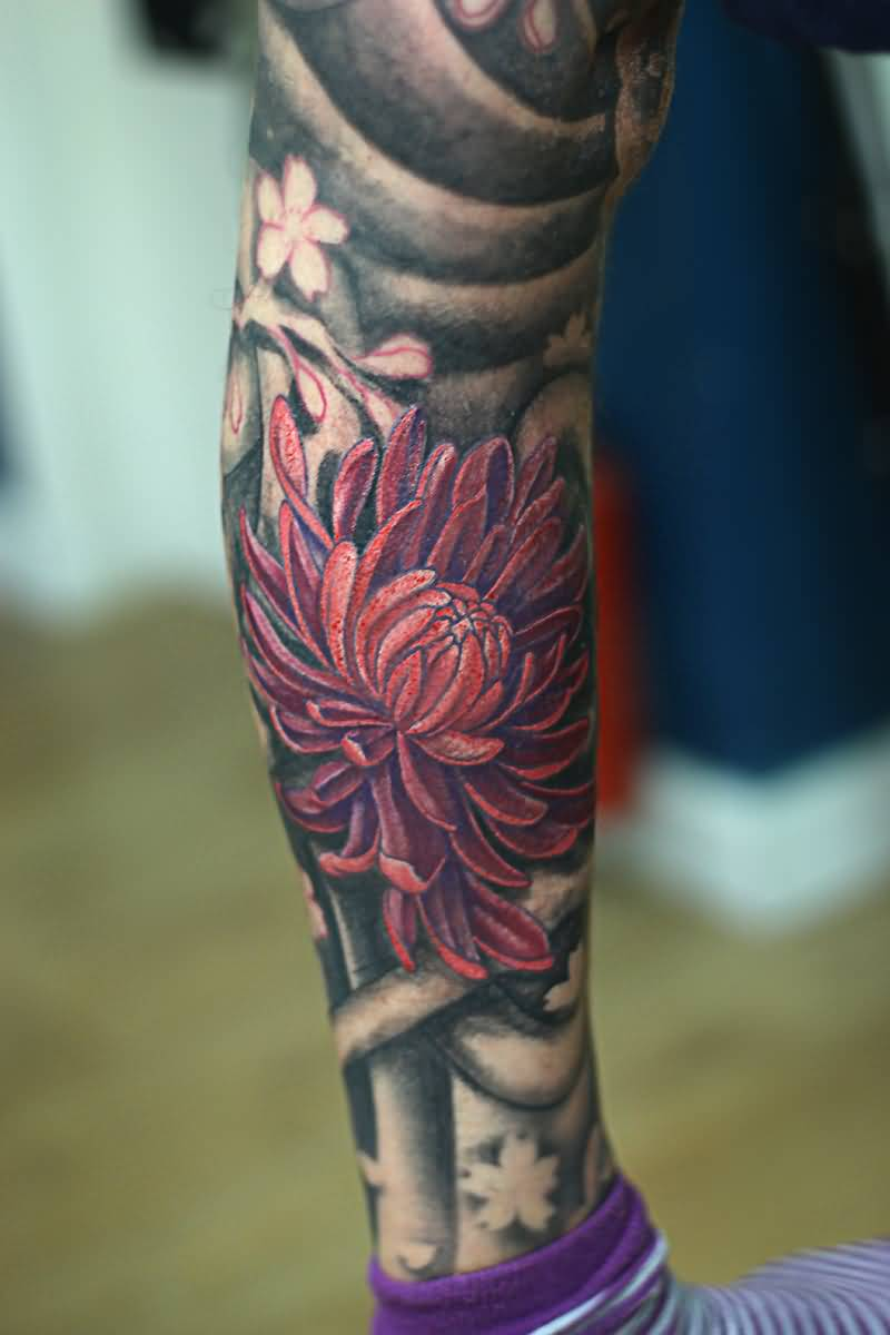 43 Wonderful Chrysanthemum Tattoos Ideas And Designs
