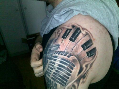 60 Amazing Piano Tattoos Ideas And Designs