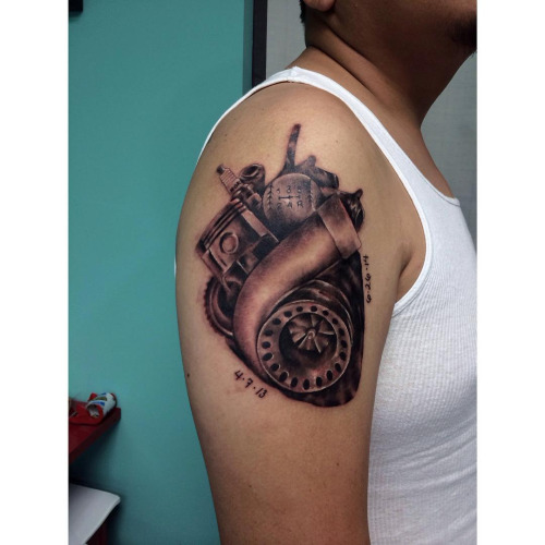 9 Turbo Heart Tattoos Ideas And Designs