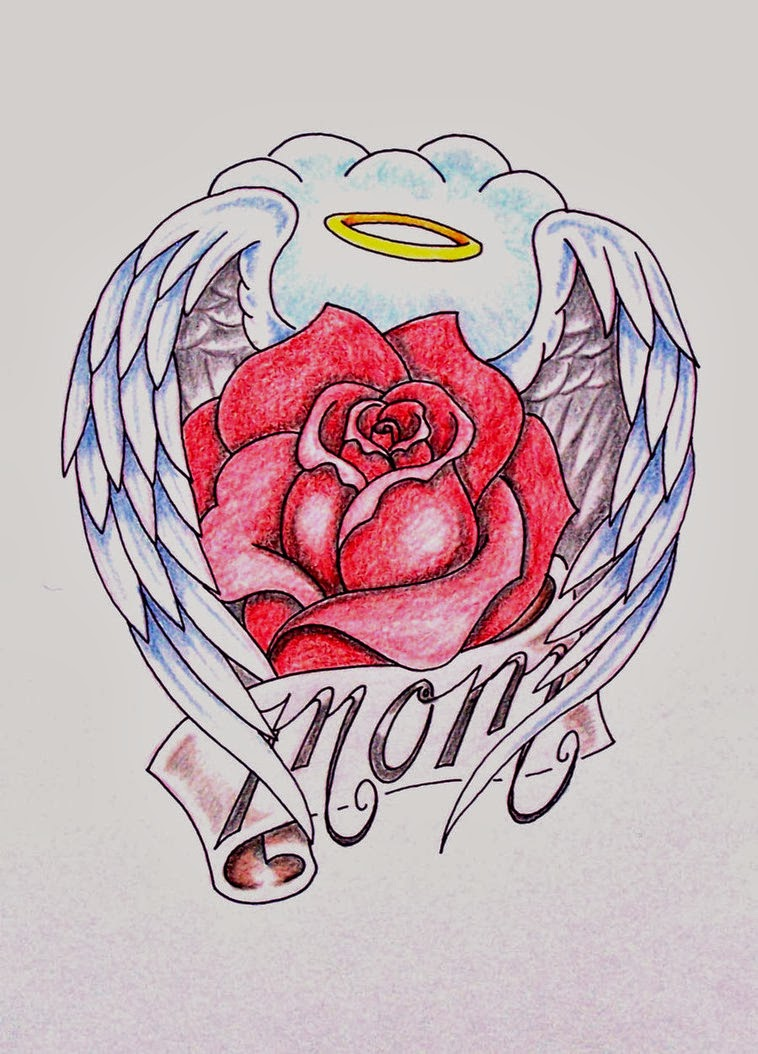 60 Mom Tattoos With Rose Ideas And Designs