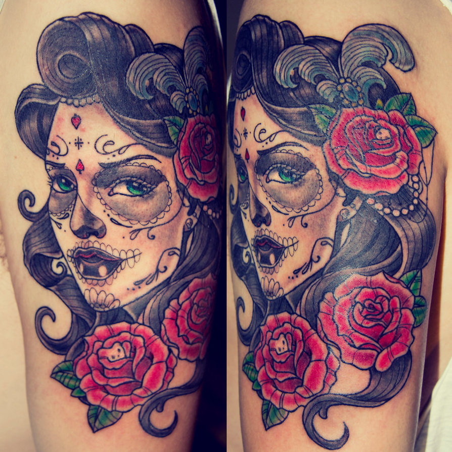 20 Traditional Catrina Tattoos Ideas And Designs