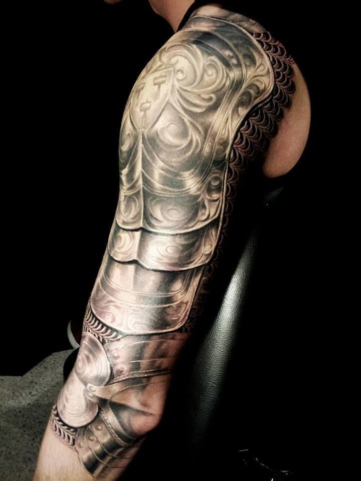 60 Wonderful Armor Tattoos Ideas And Designs