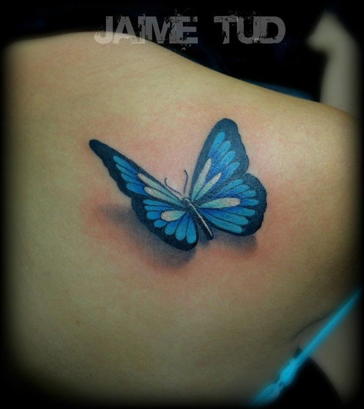 31 3D Butterfly Tattoos Ideas And Designs
