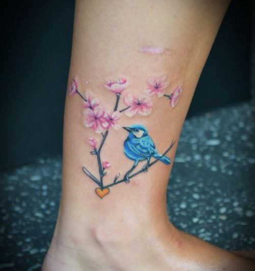 65 Bird Ankle Tattoos Ideas Ideas And Designs