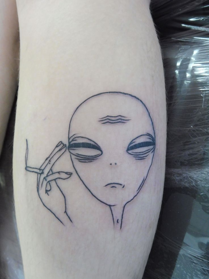 55 Best Alien Tattoos Design And Ideas Ideas And Designs