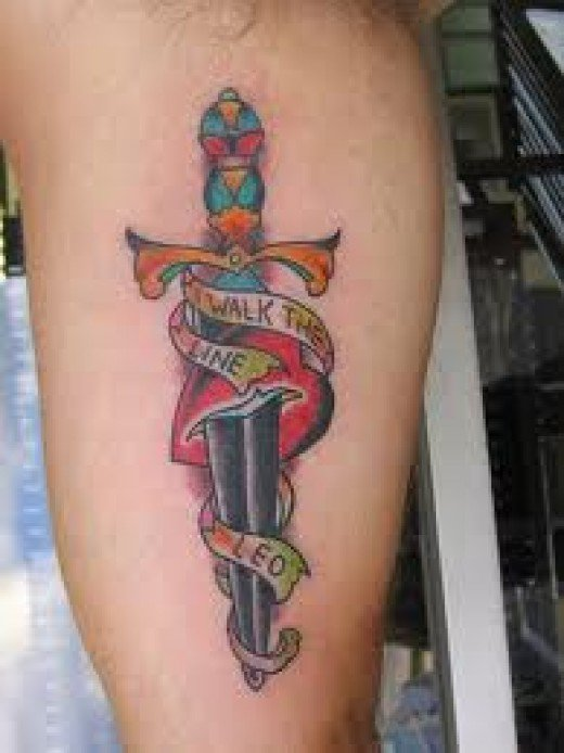 53 Best Dagger Tattoos Design And Ideas Ideas And Designs