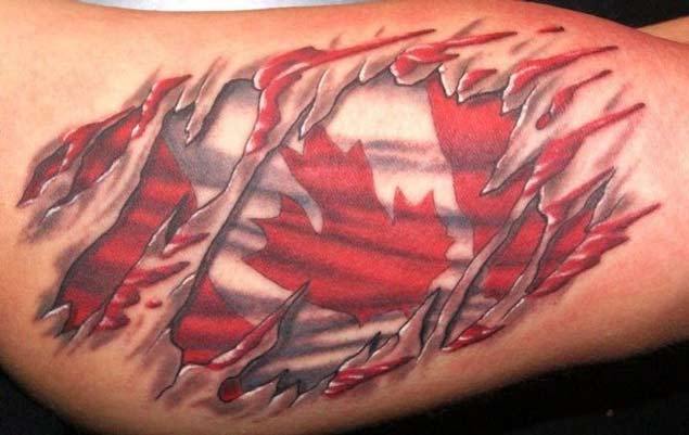 50 Most Amazing Flag Tattoo Design Ideas Ideas And Designs