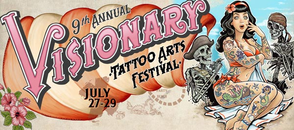 9Th Annual Visionary Tattoo Arts Festival To Take Place Ideas And Designs