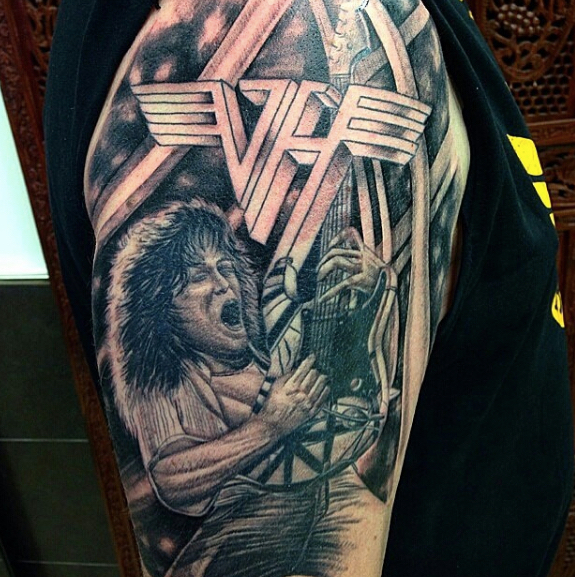 28 Van Halen Tattoo 174 Best Images About Halen On Ideas And Designs