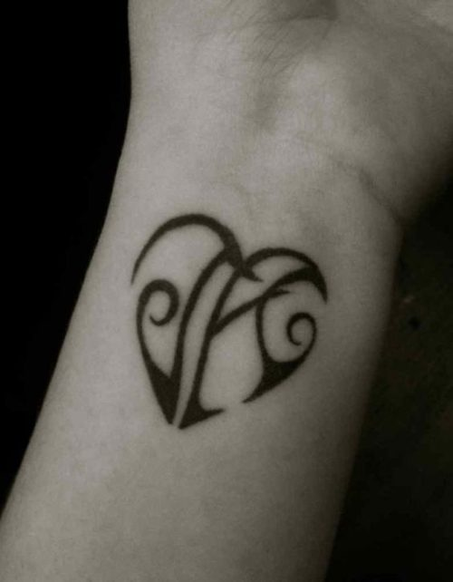 Best Initial Tattoo Designs Get Permanent Initial Ideas And Designs