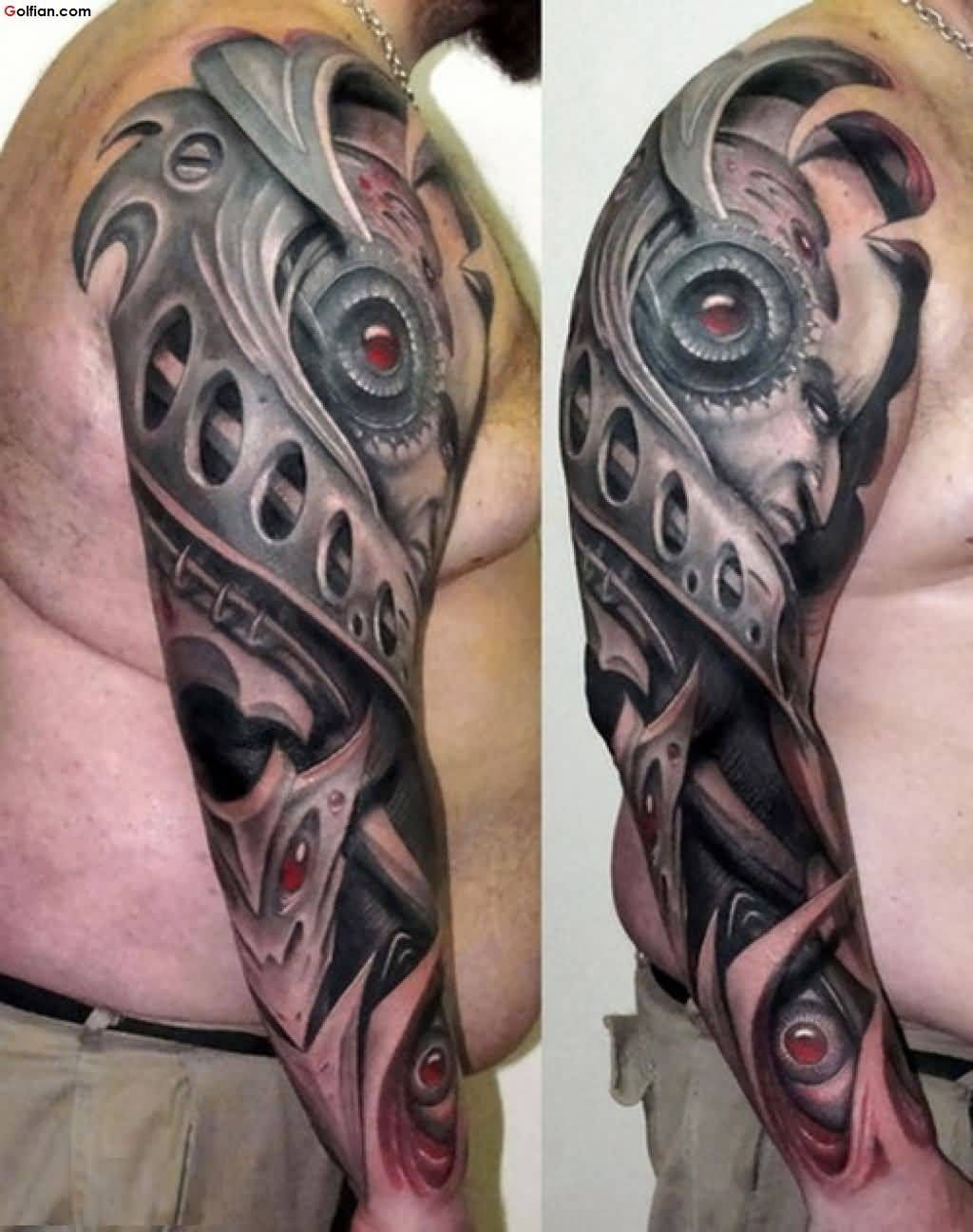 60 Mind Boggling 3D Arm Tattoos Designs And Ideas Ideas And Designs