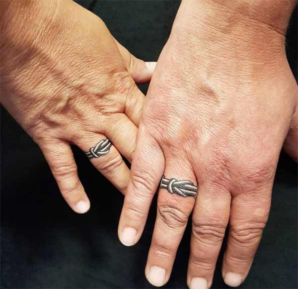 Best 24 Ring Tattoos Design Idea For Men and Women