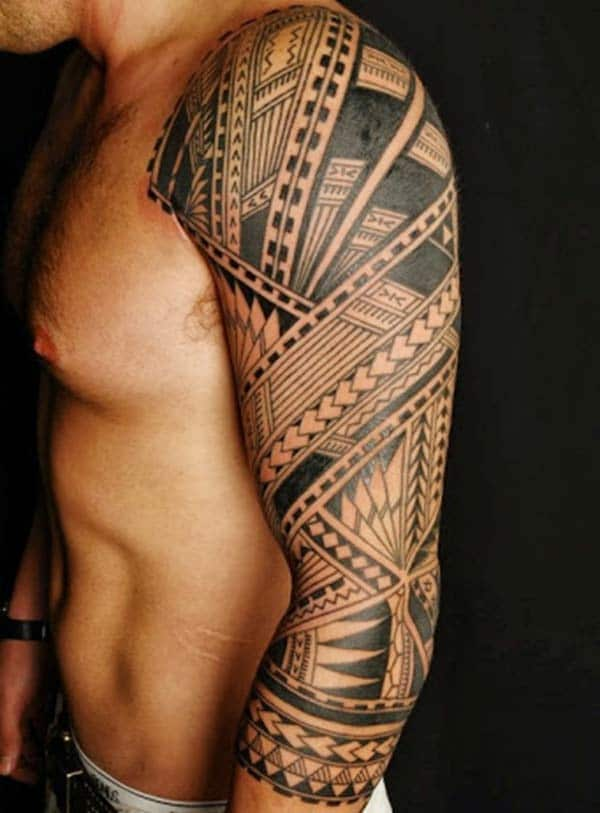 703534994 20 Art Tribal Tattoos For Men Arms Ideas And Designs