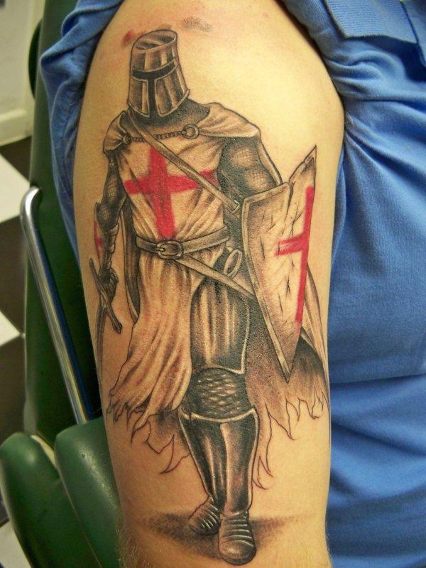 Knight Tattoo Designs
