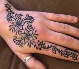 Tribal Henna Tattoos For Men