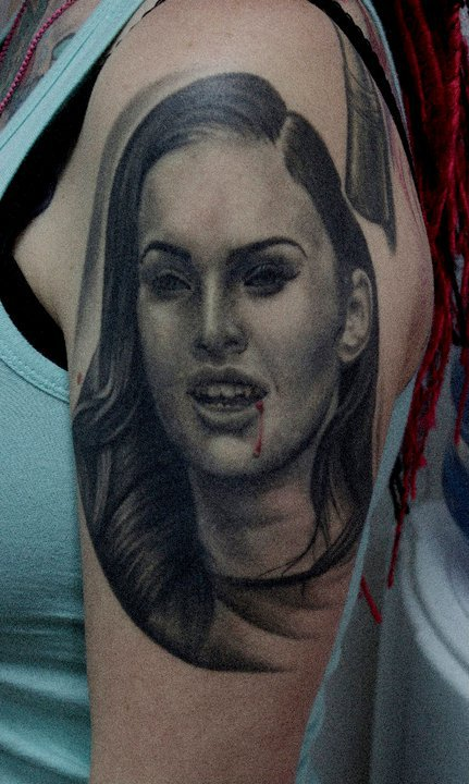100s of Megan Fox Tattoo Design Ideas Picture Gallery