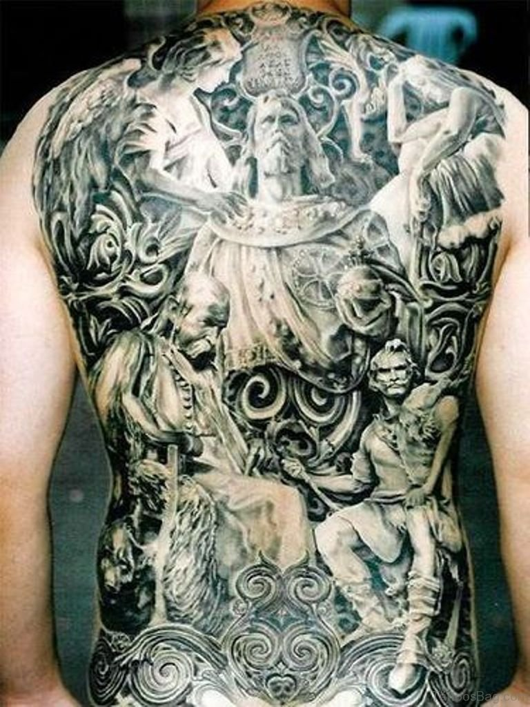 Heaven And Hell Back Tattoo : heaven, tattoo, Fabulous, Religious, Tattoos