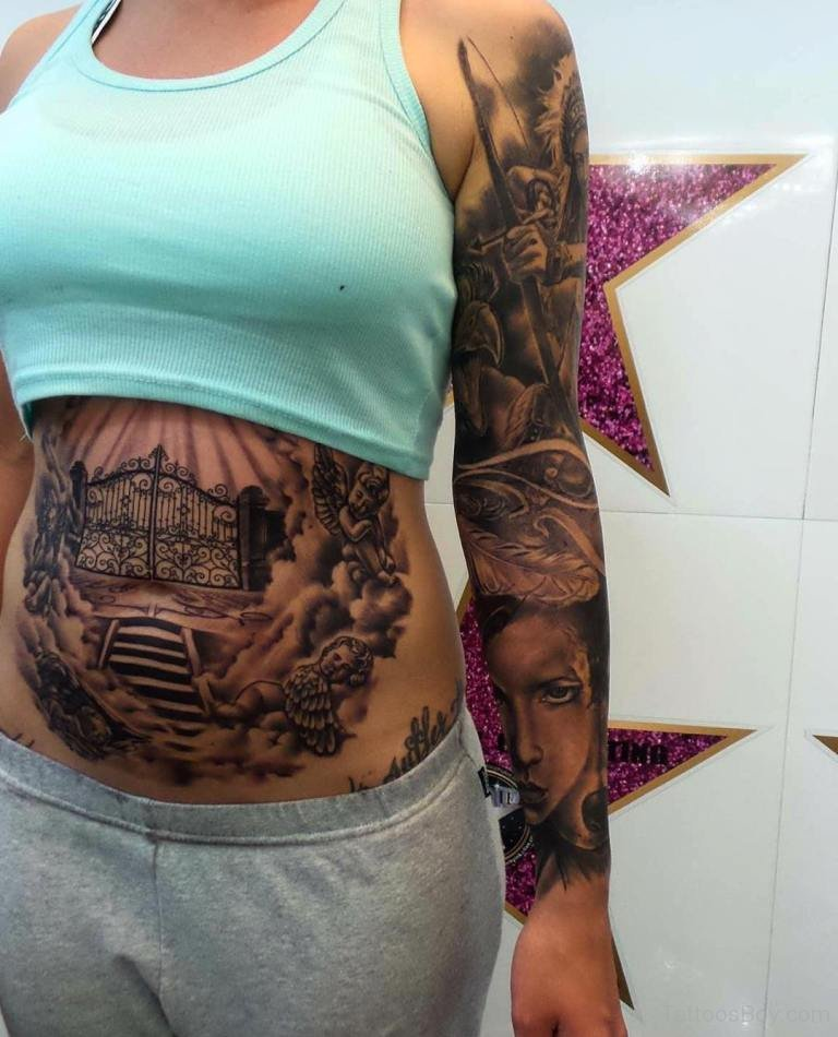 Gangster Stomach Tattoos : gangster, stomach, tattoos, Search, Results, Tattoo, Designs,, Pictures