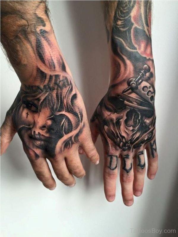 Gangster Hand Tattoos : gangster, tattoos, Tattoos, Tattoo, Designs,, Pictures