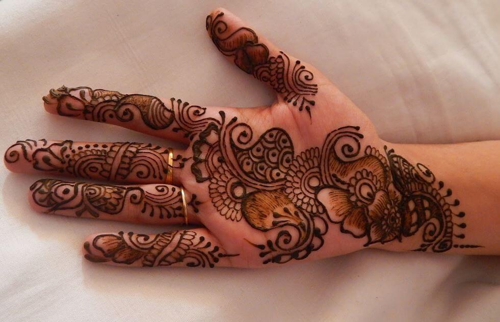 Finger Mehndi Design New Easy
