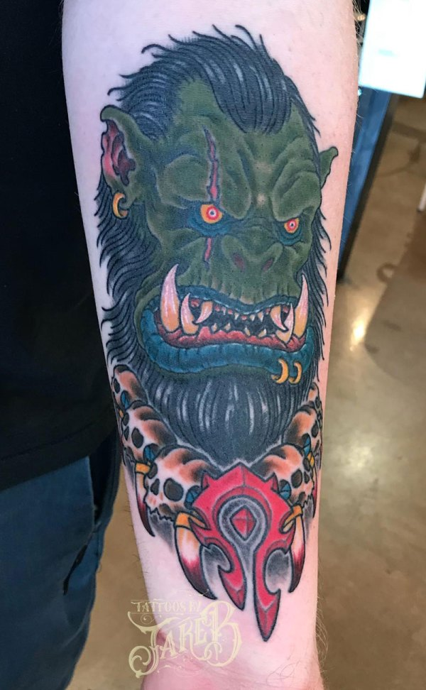 World Of Warcraft Druid Tattoo Exploring Mars