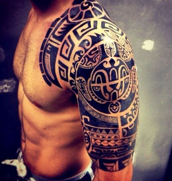 Simple Tattoo For Men Biceps