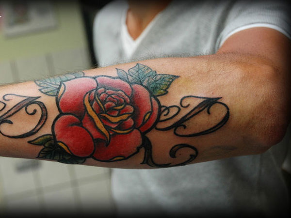 25 Blazing Hot Rose Tattoos for Men  TattoosDesignIdea
