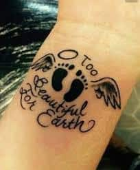 Miscarriage Tattoos For Guys : miscarriage, tattoos, Miscarriage, Tattoos