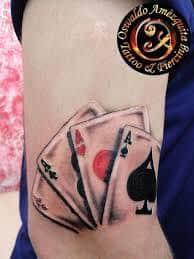 4 Aces Tattoo : tattoo, Tattoo, Mean?, Represent, Symbolism