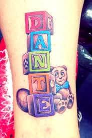 Baby Name Tattoos For Mom : tattoos, Tattoos, Ideas, Tattoo, Design