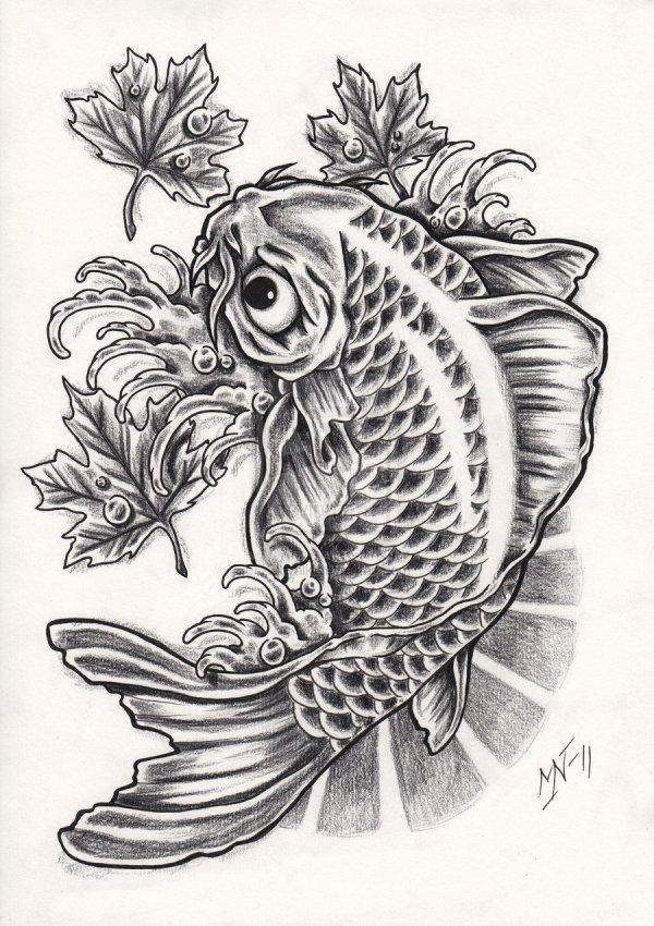 koi tattoos design ideas